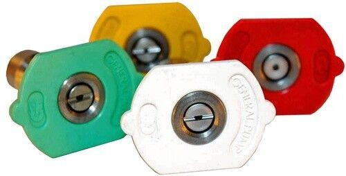 General Pump 8.708-713.0 Nozzle, Kit 4-Pack 040 QC (0,15,25,40 Degrees, Size #04