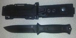 Gerber Fixed Blade Hunting Knives StrongArm Knife, Fine Edge, Black 30-001038