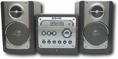 NIB Craig CD Shelf System with PPL Digital Tuning AM/FM Stereo Radio NEW IN BOX  Craig Cd Home Audio