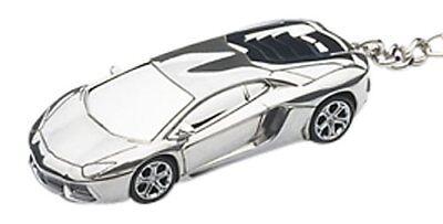 Autoart 1/87 Escala Lamborghini Aventador Llavero (Aluminio)