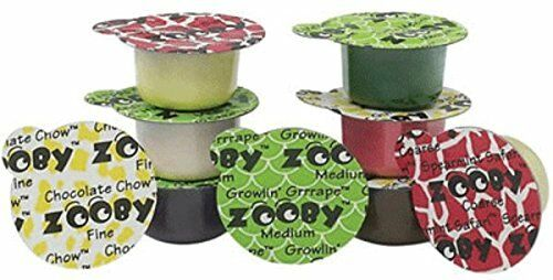 Young Dental 600010 Zooby Animal Pack Prophy Paste Assorted Coarse 100/Pk