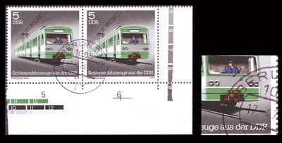 """DDR Nr. 2414 I gestempelt """"Plattenfehler"""""""