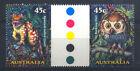 Owls Australian Stamp Sheets