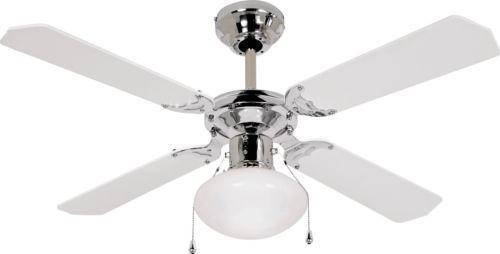 white ceiling fan ebay. Black Bedroom Furniture Sets. Home Design Ideas