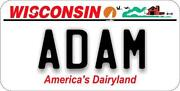 Wisconsin Bicycle License Plate