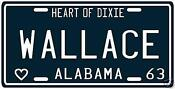 George Wallace License Plate