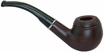 Halloween Costume Accessory - 5.5 Inch Brown/Black Diplomat's Pipe