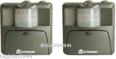 Two Pack X10 MS16A Active Eye Motion Sensor (Enhanced MS14A) Factory Fresh