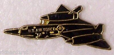 Hat Tie Tac Pin Airplane SR-71 Blackbird (Tie Tac Hat)