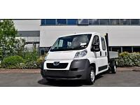 2016 Peugeot Boxer 2.2 HDi Crew Cab Chassis 130ps Diesel Double Cab Chassis