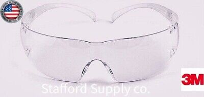 3m Securefit Safety Glasses W Clear Frame And Clear Anti-fog Lens 200 Series