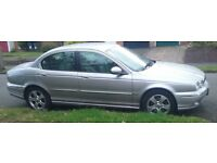 Jaguar X type. Ideal as a car for spares etc hence price