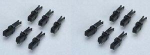 2x PIKO 56042 Ganzzug-Kurzkupplung (12 Stück)                           #26002*2