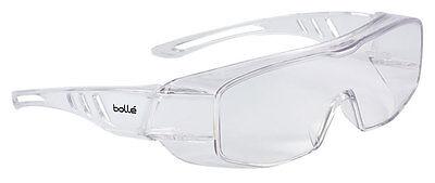 Bolle OVERLIGHT OTG Safety Over Spectacles Glasses  CLEAR Lens OVLITLPSI