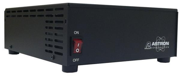 Astron SS-25 Desktop Switching Power Supply, 13.8V, 25A Max