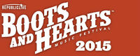 Boots and Hearts 2015 VIP ticket