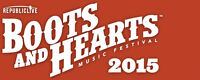 Two 2015 Boots and Hearts General Admission Passes