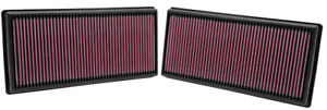 KN filters for Range Rover Supercharged