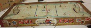 Vintage 1957 NHL Hockey Game