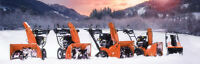 CERTIFIED SNOW BLOWER TUNE UP + SAVE $20!! - WE PICK UP!