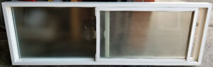 Vinyl Window with privacy glass