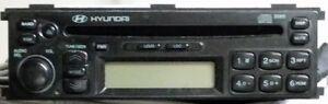 Hyundai/Clarion AM/FM CD Player Regina Regina Area image 1