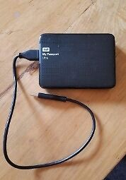 WD My Passport 2TB external hard drive/harddrive/HDD