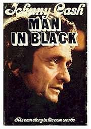 Johnny Cash-Man in Black-Original 1975 Hard cover book + bonus