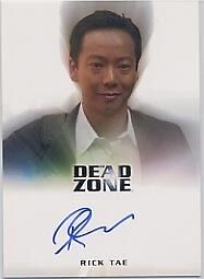DEAD ZONE SEASONS 1 AND 2 RICK TAE DR. TRAN BINDER EXCLUSIVE AUTOGRAPH