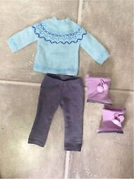 American girl frosty fair isle outfit