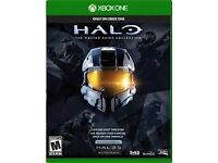 Xbox One (1) Halo: master chief edition (1,2,3,4)