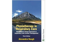 Physiotherapy in respiratory care by Hough (3rd edition) for sale