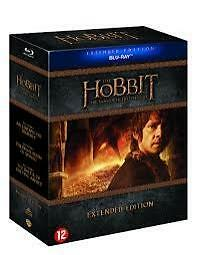 The Hobbit Trilogy Extended Edition (Blu-ray) (Films)