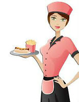 WAITRESS POSITION IMMEDIATE AVAILABLE, part time.