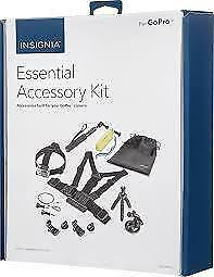 Insignia Essential Accessory kit for go pro camera ...