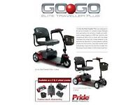 GOGO Elite Traveller Plus, 4mph Portable Mobility Scooter, NOW ONLY £775