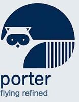 $210.00 Porter Airlines Credit for Sale