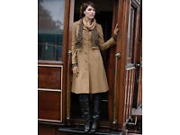 Pepperberry(Bravissimo) Camel Long Coat(RRP £129) - Size 16 Super Curvy**BRAND NEW WITH TAGS**