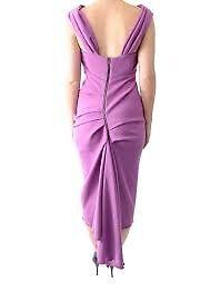 stunning designer kevan jon 'sian' magenta dress for any occassion