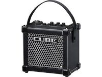 Roland Micro cube amp amplifier street