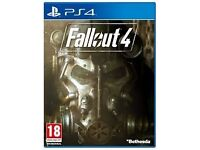 PS4 - FALLOUT 4 - NEW - £10