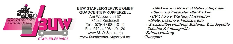 Quadcenter Kupferzell & BUW Stapler