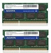 8 GB DDR3-1600 So-dimm