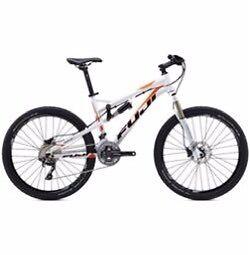 Fuji belle full suspension mountain bike RRP £1800