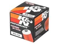 K&N perfomance cartrige oil filter kn 154