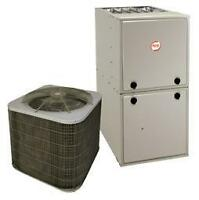 Heat pump installed! - 2 ton payne for mobile or small house.