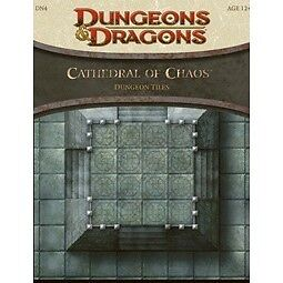 Cathedral of Chaos - Dungeon Tiles : A 4th Edition Dungeons and Dragons...