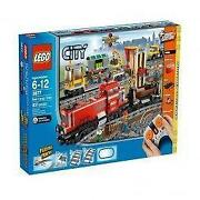 Lego Red Cargo Train