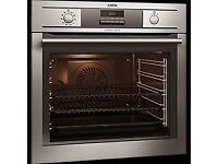 Multifunction Electric Built In Single Oven AEG BP5304001M EX DISPLAY NEW