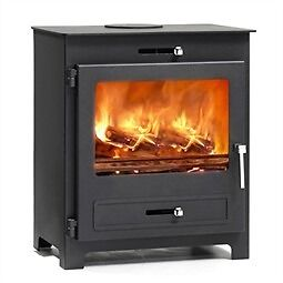 Silverdale 7 kw Defra wood burning stove Ex display £480 collect from Bolton